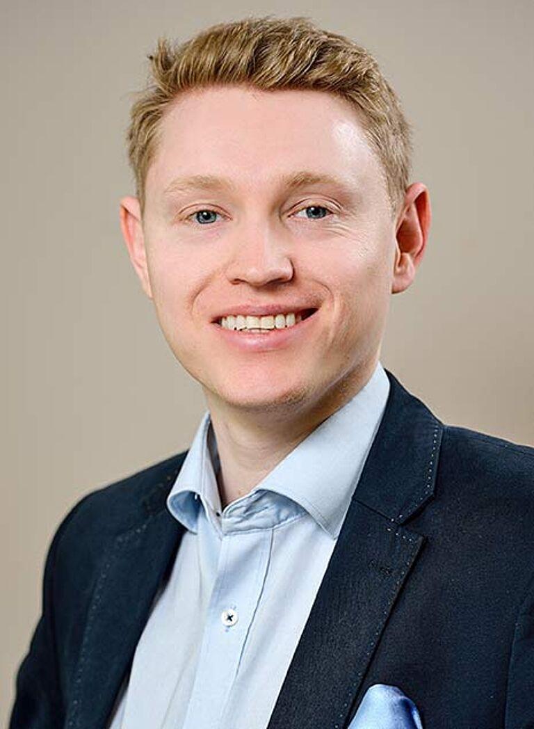 Daniel Luther Portraitfoto