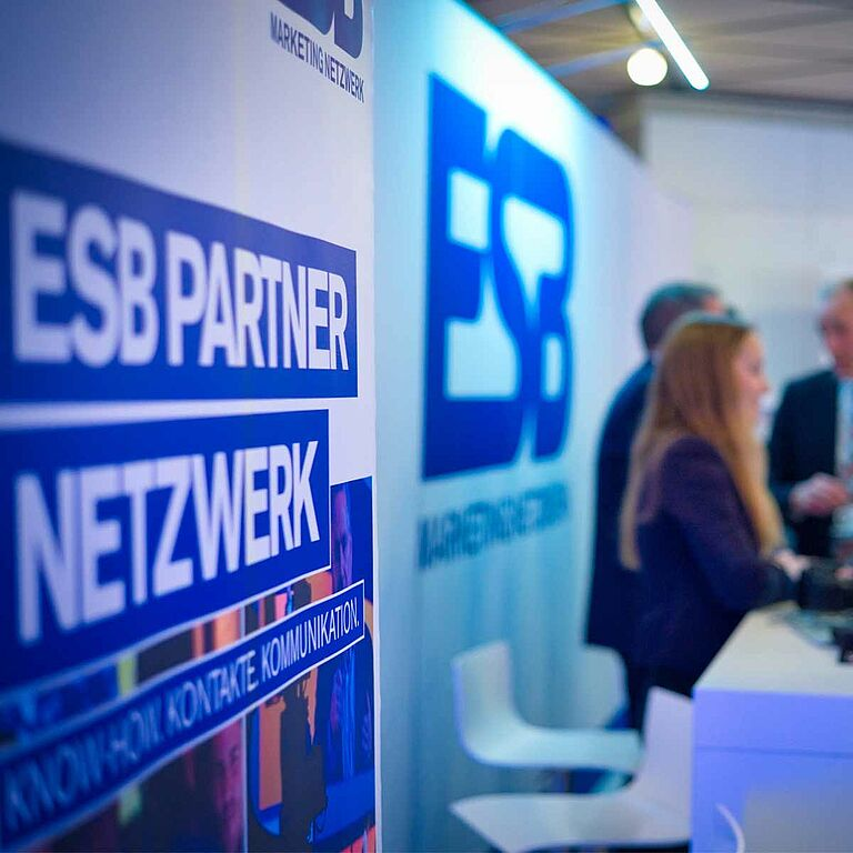 ESB Partner Netzwerk Aufsteller